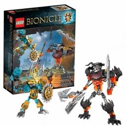 Купить Игровой набор: 2 сборные фигурки и аксессуары LEGO «Создатель Масок против Стального Черепа»