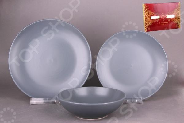Набор столовый Коралл HJC18P0007 представляет собой надежный и легкий в использовании элемент сервировки, который может отлично дополнить как домашний интерьер, так и уютное кафе. Оригинальная посуда подарит хорошее настроение и разогреет аппетит, а также привнесет разнообразие в приготовление ваших любимых блюд и сервировку семейного стола. Комплектация: 6 тарелок, 6 глубоких тарелок, 6 салатников.
