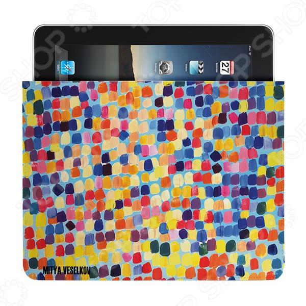 Чехол для iPad Mitya Veselkov «Палитра» чехол для ipad mitya veselkov подсолнухи ван гога