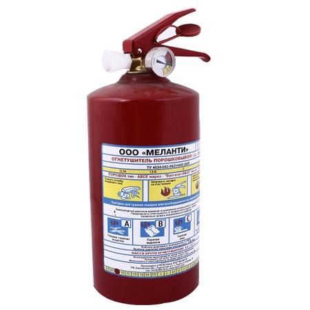 Купить Огнетушитель порошковый Меланти ОП-1