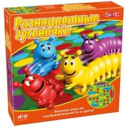 Купить Игра настольная Tactic «Разноцветные гусенички»