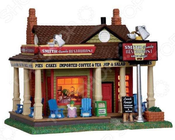 Домик керамический Lemax «Семейный ресторан Смита» стоимость