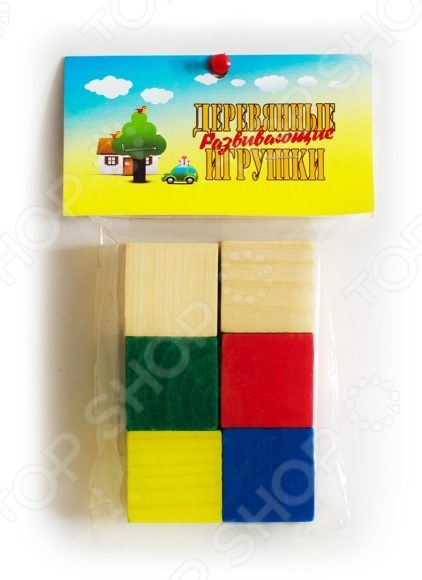 Кубики обучающие Русские деревянные игрушки цветные Д154бКубики для малышей<br>Кубики обучающие Русские деревянные игрушки цветные Д154б станут чудесным подарком для вашего любимого чада. Подобные игрушки способствуют развитию у детей мелкой моторики рук, логики и когнитивного мышления. Кубики выполнены из натурального дерева и покрыты стойкой нетоксичной краской. В игровой набор входят шесть кубиков.<br>