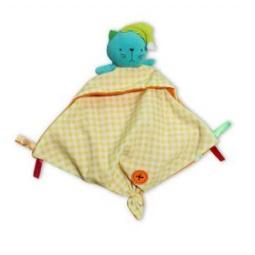 фото Погремушка-платочек 1 Toy «Кот» Т57137-1