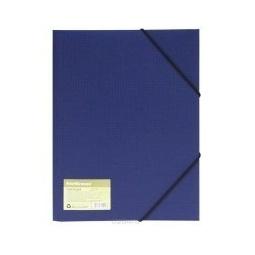 фото Папка для документов на резинке Erich Krause Eco 4. Цвет: синий