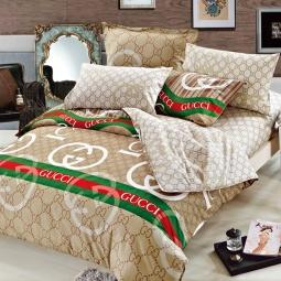 фото Комплект постельного белья Amore Mio Gucci. Provence. Евро