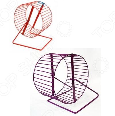 Колесо для клетки грызуна ZOOmark металлическое. В ассортименте