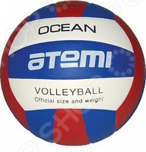 Мяч волейбольный Atemi AVC4S Мяч волейбольный Atemi AVC4S /Синий/Красный/Белый