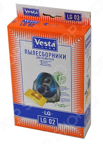 Мешки для пыли Vesta LG 02 мешки для пыли vesta lg 03 s