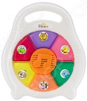 фото Игрушка музыкальная Мир детства «Песенки животных», Музыкальные игрушки для малышей