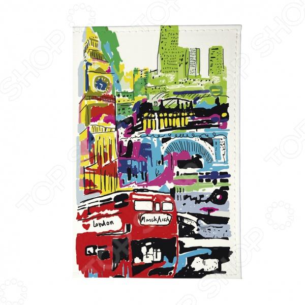 Обложка для паспорта Mitya Veselkov «Лондон в красках» как дешевые билеты в лондон