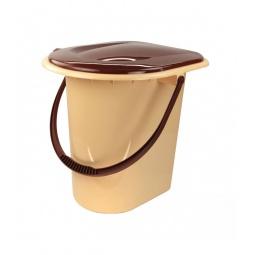 Купить Ведро-туалет «Комфорт». В ассортименте. Объем: 17 л