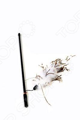 Игрушка для кошек Beeztees «Удочка с перьями страуса». В ассортименте игрушка для животных каскад удочка с пауком и перьями длина 58 5 см
