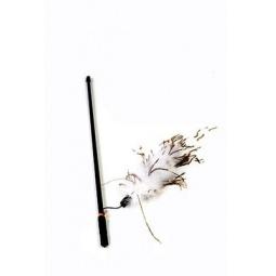 фото Игрушка для кошек Beeztees «Удочка с перьями страуса». В ассортименте