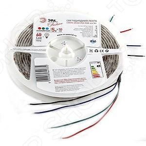 Лента светодиодная Эра LS5050-60LED-IP65-RGB-eco-5m