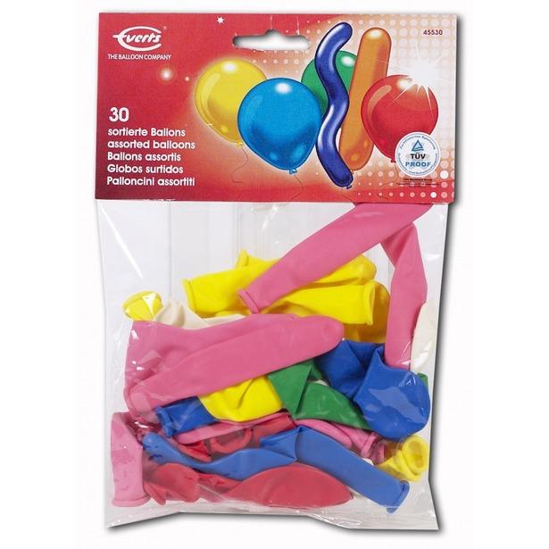 фото Набор надувных шариков Everts 455305F N. В ассортименте
