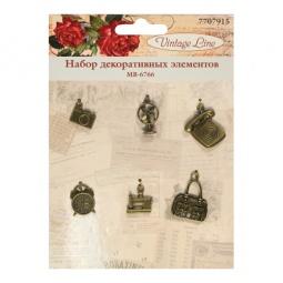фото Набор декоративных элементов для вышивки Vintage Line MB-6766