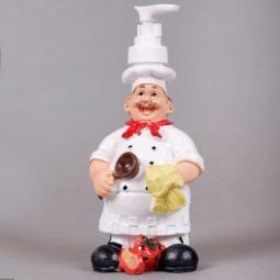 фото Диспенсер для жидкого мыла Феникс-Презент «Поваренок с ложкой»