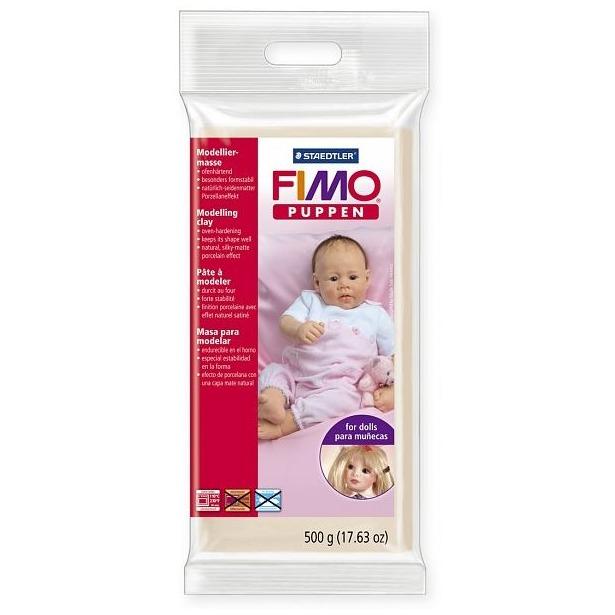 фото Глина полимерная для изготовления кукол Fimo Puppen 8029. Цвет: фарфоровый