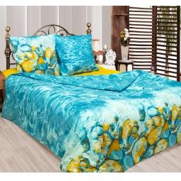 фото Комплект постельного белья Сова и Жаворонок «Лагуна». 2-спальный. Размер наволочки: 50х70 см — 2 шт