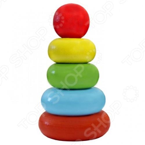 Игрушка-пирамидка Alatoys «Колечки» 050105 Игрушка-пирамидка Alatoys «Колечки» 050105 /