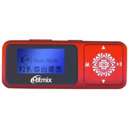 фото MP3-плеер Ritmix RF-3350. Цвет: красный. Встроенная память: 4 Гб