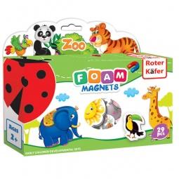 фото Игра развивающая на магнитах Roter Kofer «Зоопарк» RK2101-02
