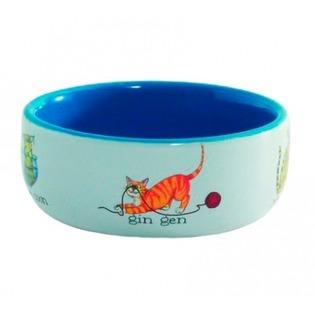 Купить Миска для кошек Beeztees «Играющие рыбки»
