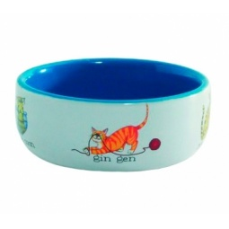 фото Миска для кошек Beeztees «Играющие рыбки»