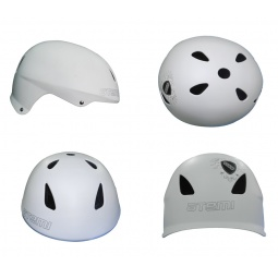 фото Шлем защитный ATEMI Rider AAHR-02. Цвет: белый. Размер: S (54-56)
