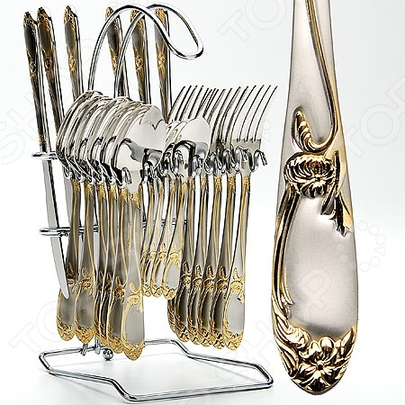 Набор столовых приборов на подставке Mayer&Boch MB-23109 щиток приборов 2110 с отметкой 240км купить