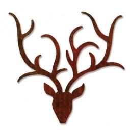фото Форма для вырубки Sizzix Bigz Die Северный олень с рогами