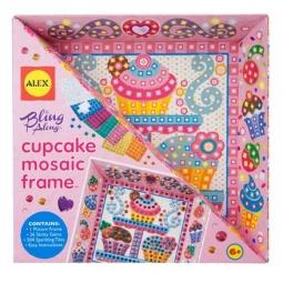 Купить Набор для создания поделок ALEX «Мозаика в рамке - Тортик»