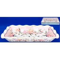 Купить Блюдо для заливного Elan Gallery «Орхидея на розовом»
