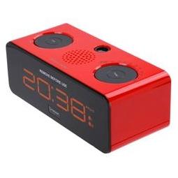 фото Проекционные часы с радиоприемником Oregon Scientific RRA320PN. Цвет: красный
