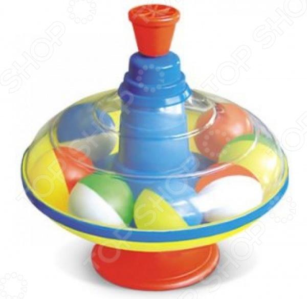 Юла Стеллар с шариками 01320 развивающие игрушки стеллар юла карусель с шариками