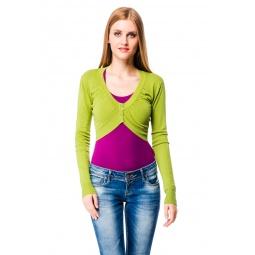 фото Болеро Mondigo 9463. Цвет: темно-зеленый. Размер одежды: 46