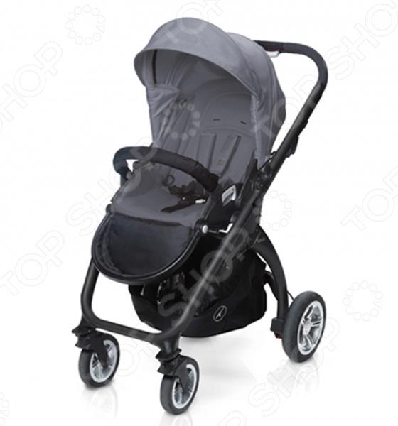 Коляска прогулочная Casualplay KUDU4 BLACK TECHNICAL коляска прогулочная casualplay loop aluminium