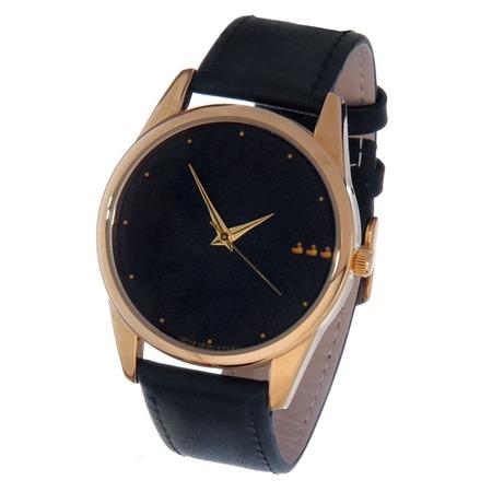 Купить Часы наручные Mitya Veselkov «Уточки» Gold