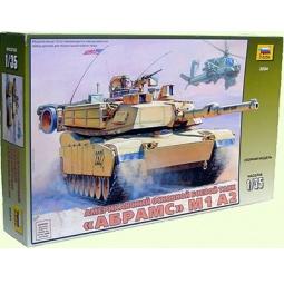 фото Сборная модель Звезда американский танк «Абрамс М1А2»