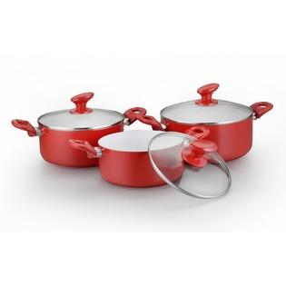 Купить Набор посуды «Империя вкуса». Количество предметов: 6. Цвет: красный