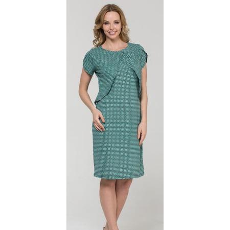 Купить Платье для беременных Nuova Vita 2128.4. Цвет: бирюзовый