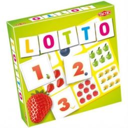 Купить Лото Tactic «Цифры и фрукты 2»