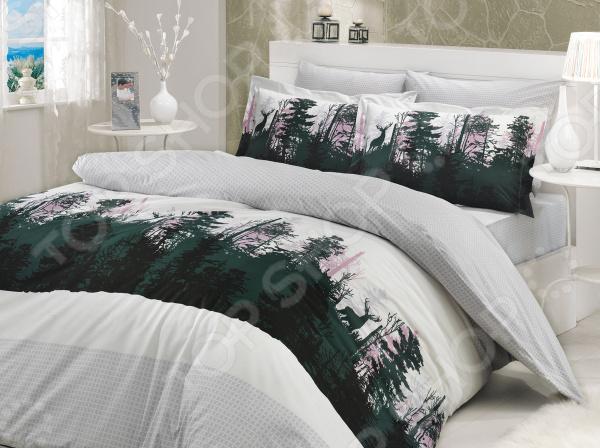 Комплект постельного белья Hobby Home Collection Tierra. Цвет: серый. ЕвроЕвро<br>Выбор постельного белья дело ответственное, ведь от его качества зависит то, насколько комфортно вы будете чувствовать себя. Не стоит отвлекаться на яркий и красочный дизайн, главное состав ткани! Постельное белье из синтетических волокон хоть более долговечно и очень красивое, но совсем не пропускает воздух и не отводит влагу. Поэтому, если вы не хотите просыпаться каждый раз в поту такое постельное белье стоит оставить для особых случаев. Однако не стоит увлекаться и изделиями из жестких натуральных тканей. Так, постельное белье с добавлением льна выглядит достаточно привлекательно и аутентично, но может доставить вашей чувствительной коже некоторый дискомфорт. Отличный выбор для комфортного сна! Комплект постельного белья Hobby Home Collection Tierra. Цвет: серый удивительно удобное и практичное постельное белье, которое удивит даже самых взыскательных покупателей. Этот комплект выполнен из прочного хлопкового материала поплина, который отличается от бязи мягкостью, гладкостью и шелковистостью. Ткань имеет около 63 переплетений нитей на один квадратный сантиметр. Это делает белье не только плотным, но и долговечным, стойким к бутовому истиранию! Такой комплект станет отличным решением для повседневного использования. Легкая и гигроскопическая ткань практически не мнется, поэтому белье не собирается в грубые складки даже во время самого беспокойного сна.  Почему стоит выбрать этот комплект постельного белья  Натуральные хлопковые волокна являются неблагоприятной средой для размножения пылевых клещей и грибков.  Плотная и приятная на ощупь ткань не мнется и не деформируется, не электризуется.  Натуральный материал отлично впитывает влагу и прекрасно пропускает воздух, что обеспечивает оптимальный для вашего тела микроклимат. Летом в на таком постельном белье будет прохладно, а зимой тепло.  Не доставляет дискомфорт даже чувствительной коже.  Прост в уходе, легко отстирывается и без ус