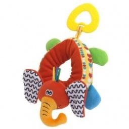 фото Мягкая игрушка развивающая Жирафики «Браслет на ножку. Слон»
