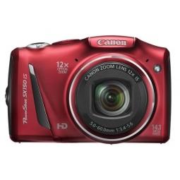 фото Фотокамера цифровая Canon PowerShot SX150 IS. Цвет: красный