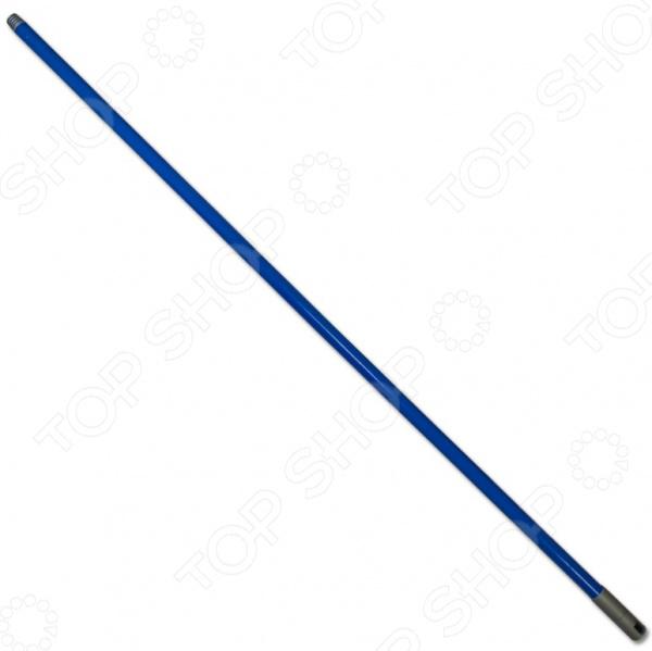 Рукоятка для швабры EUROTEX 080410-000-002Швабры и щетки<br>Рукоятка для швабры EUROTEX 080410-000-002 прочная рукоятка из металла, имеет наконечник с резьбой для крепления насадок. Длина ручки составляет 120 см.<br>