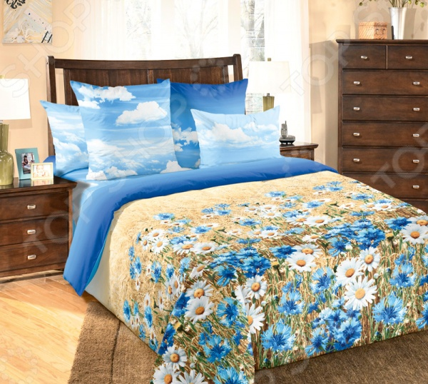 Комплект постельного белья ТексДизайн «Васильки» 6250П комплект постельного белья тексдизайн эдгар
