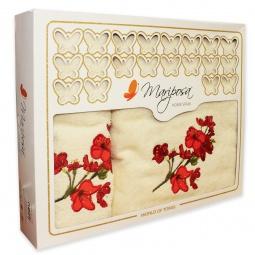 фото Комплект из 2-х махровых полотенец Mariposa Blossom