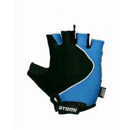 фото Перчатки велосипедные эргономичные Atemi AGC-02. Цвет: синий. Размер: S